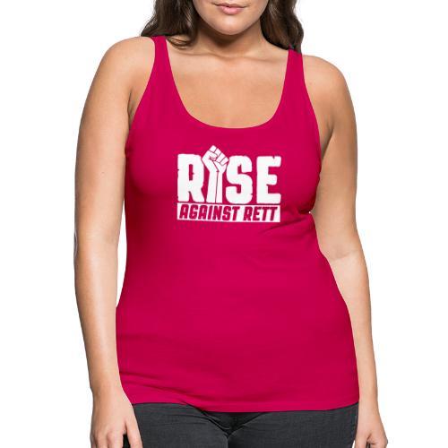 Rise against Rett - Women's Premium Tank Top