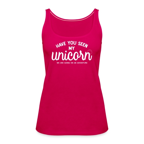 Unicorn dam - Women's Premium Tank Top