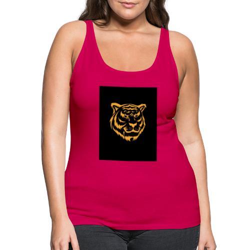 gold tiger - Camiseta de tirantes premium mujer