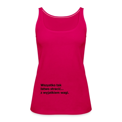 Fit - Tank top damski Premium
