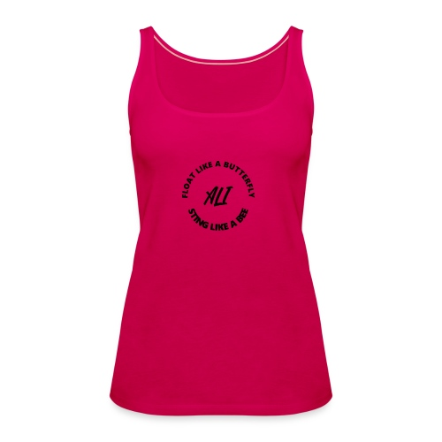 Float like a butterfly - Camiseta de tirantes premium mujer