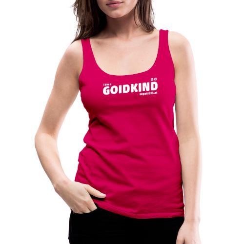 supatrüfö GOIDKIND - Frauen Premium Tank Top