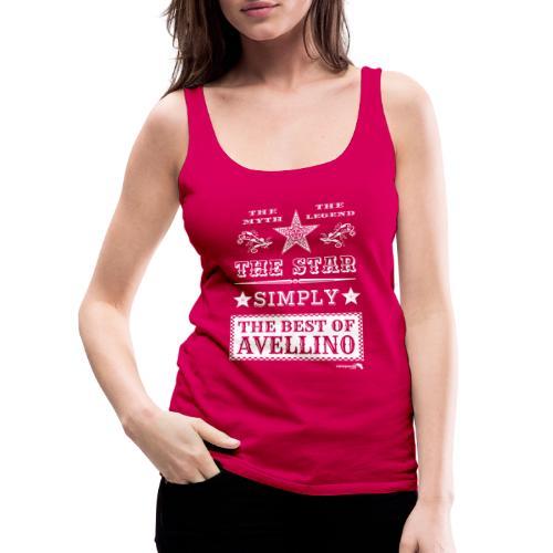 1,03 The Star Legend Avellino Bianco - Canotta premium da donna