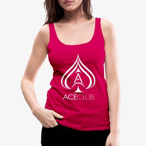 AC white ACE standard - Frauen Premium Tank Top
