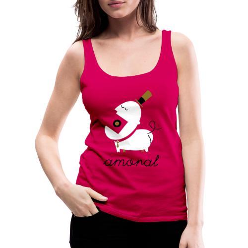 Amoral - Camiseta de tirantes premium mujer