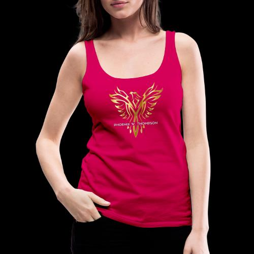 Golden Phoenix Design - Women's Premium Tank Top
