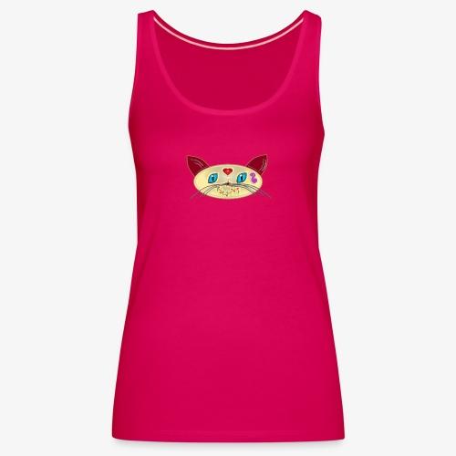 GATO PAOART - Camiseta de tirantes premium mujer