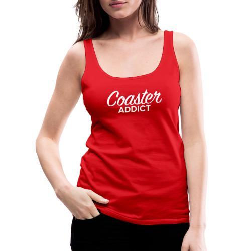 Coaster Addict Script - Débardeur Premium Femme