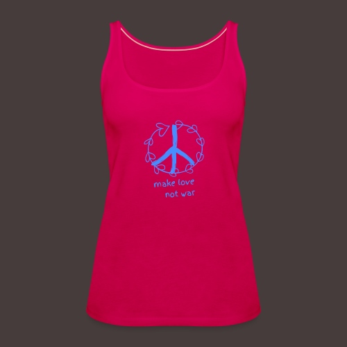 Peace,Frieden,Weltfrieden - Frauen Premium Tank Top