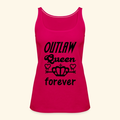 OutlawQueen Once Upon A Time Shirts - Women's Premium Tank Top