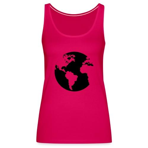 Mi mundo - Camiseta de tirantes premium mujer