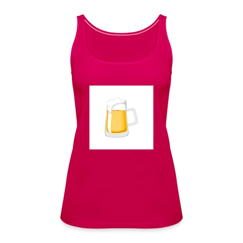 1 drink - Women's Premium Tank Top