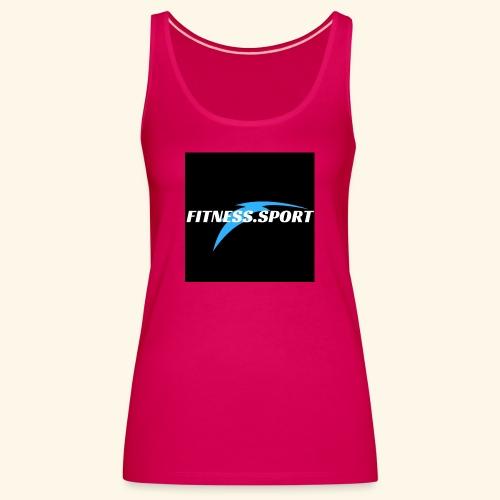fitnes sport 1 - Débardeur Premium Femme