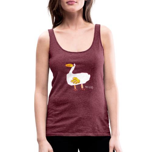 Ollie's Duck - Women's Premium Tank Top