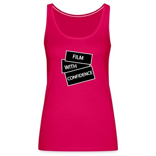 Film with Confidence - Women's Premium Tank Top