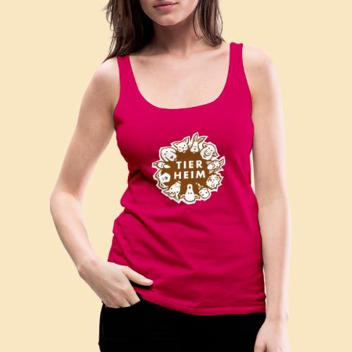 Tierheim Logo braunweiss - Frauen Premium Tank Top