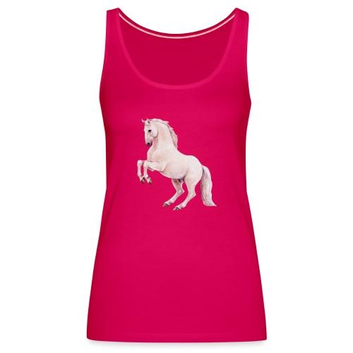 White stallion - Frauen Premium Tank Top