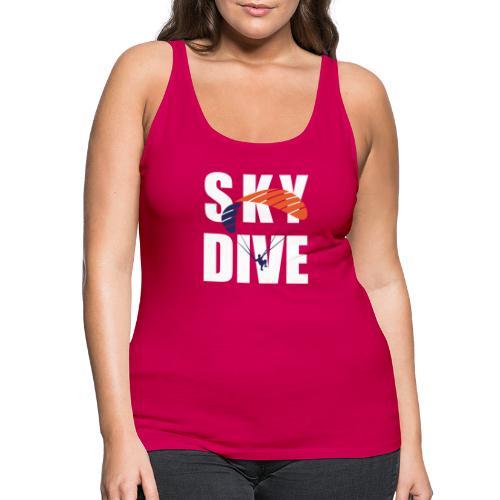 SkyDive - Frauen Premium Tank Top
