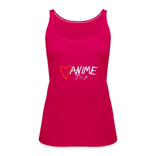Heart Anime 2 - Women's Premium Tank Top