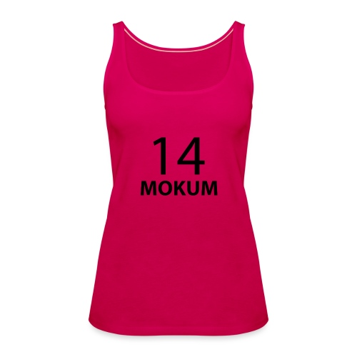 mokum 14 (black text) - Vrouwen Premium tank top