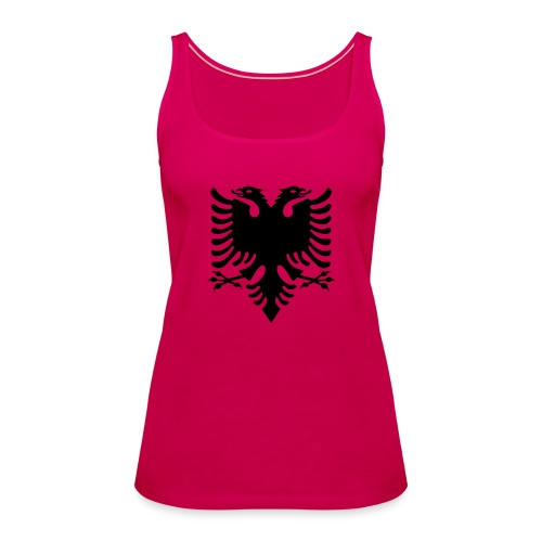 Albanian_Eagle.svg.png - Frauen Premium Tank Top