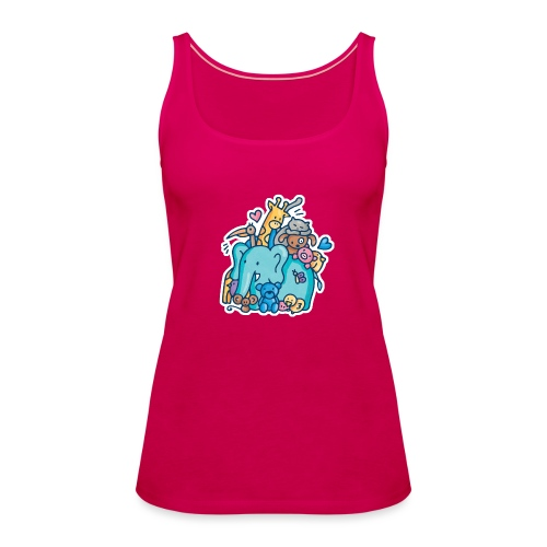 ANIMAL LOVER - Camiseta de tirantes premium mujer
