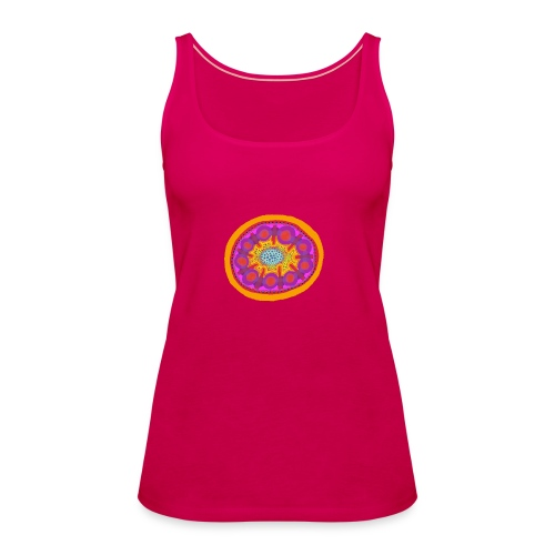 Mandala Pizza - Women's Premium Tank Top