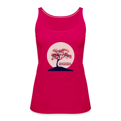 CR - Sakura - Camiseta de tirantes premium mujer