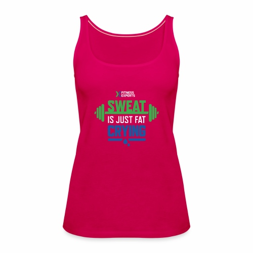 7999 The Fitness Experts T shirt Design 04 - Women's Premium Tank Top