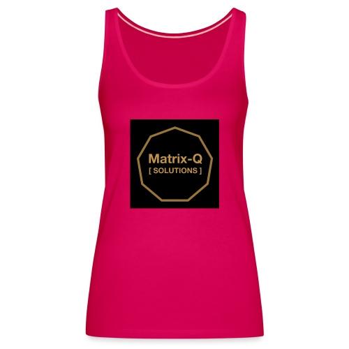 Matrix Q Solutions - Women's Premium Tank Top
