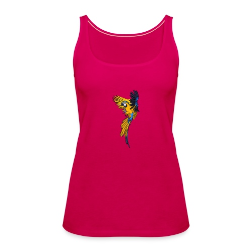 Macaw - Women's Premium Tank Top