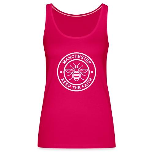 Manchester Faith Bee - Women's Premium Tank Top