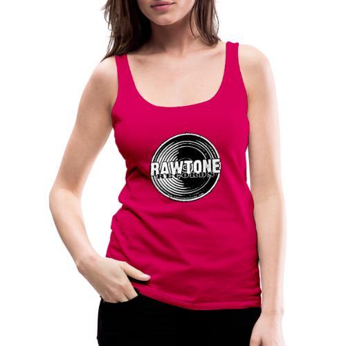 Rawtone Records - full logo - Women's Premium Tank Top
