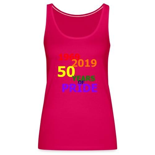 50 Jahre CSD - Frauen Premium Tank Top
