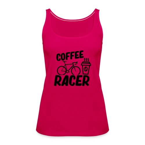 Coffee Racer - Frauen Premium Tank Top
