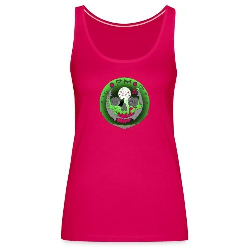 Rigormortiz Metallic Green Design - Women's Premium Tank Top