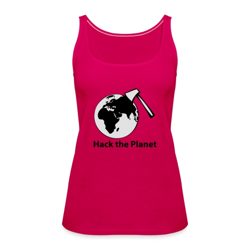 hack_the_planet_sw - Frauen Premium Tank Top