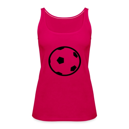 Unterwasser-Rugby Ball - Frauen Premium Tank Top