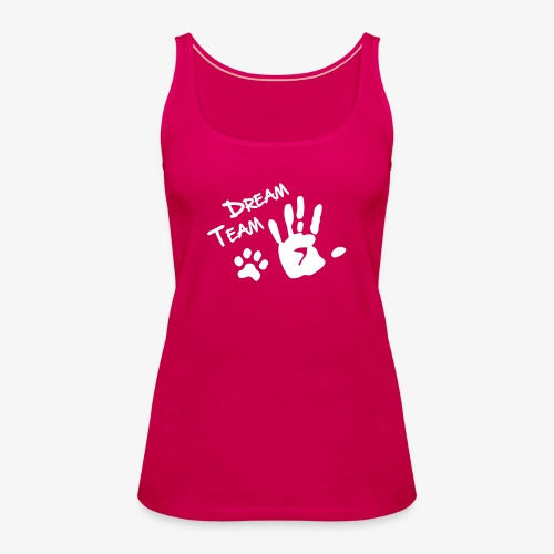 Dream Team Hand Hundpfote - Frauen Premium Tank Top