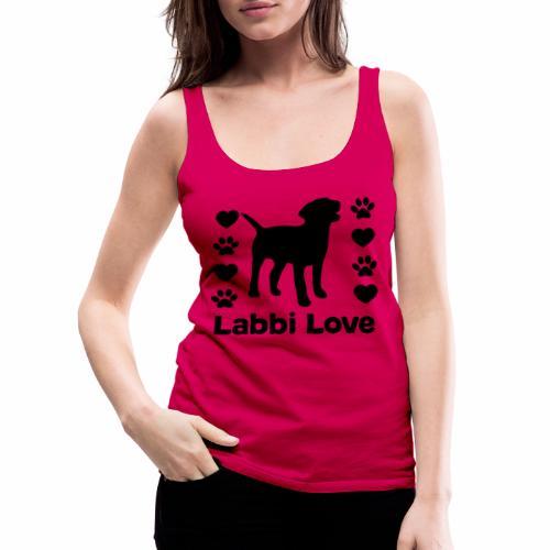 Labrador Labbi Hund - Frauen Premium Tank Top