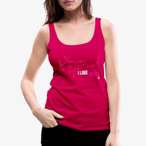 MUSIC 001 - Camiseta de tirantes premium mujer