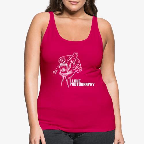 Photography 008 - Camiseta de tirantes premium mujer