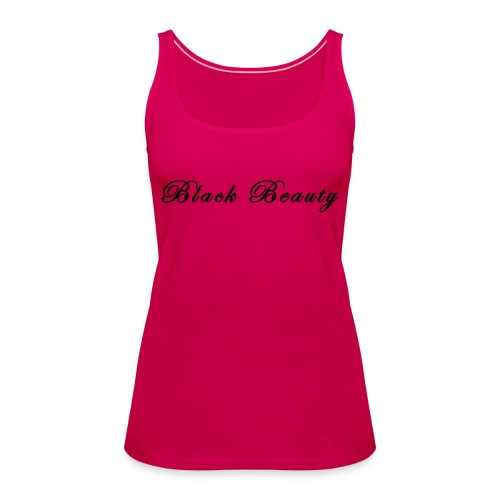 black beauty Strand Shop - Frauen Premium Tank Top