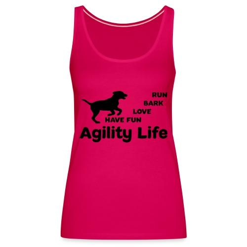 Hundesport Agility - Frauen Premium Tank Top