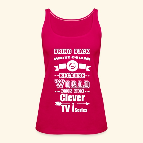 Clever TV Series - Women's Premium Tank Top