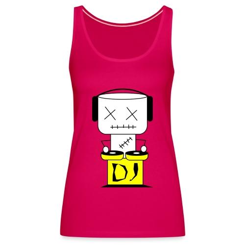 DJ Puppet XL - Frauen Premium Tank Top