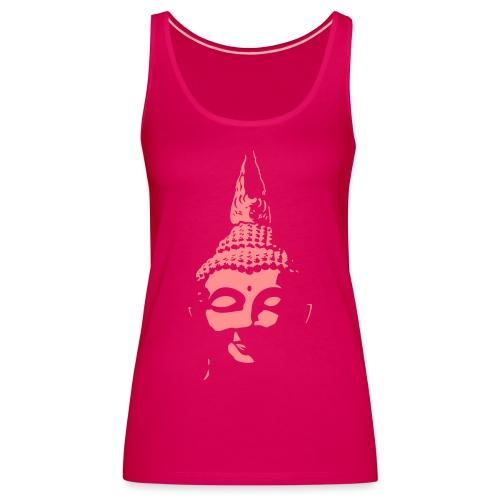 Boeddha hoofd diapositief - Vrouwen Premium tank top