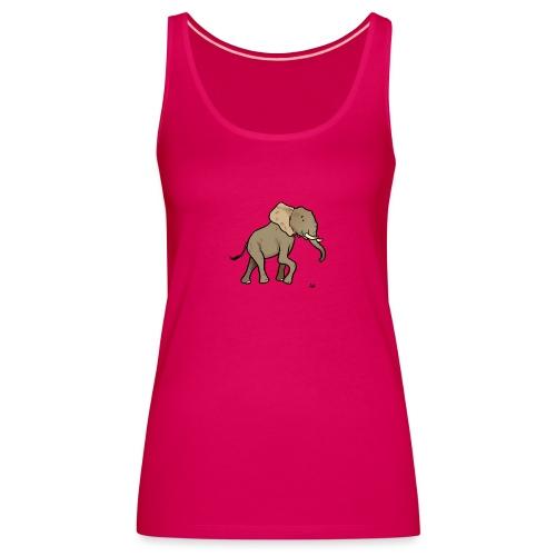 Éléphant d'Afrique - Débardeur Premium Femme