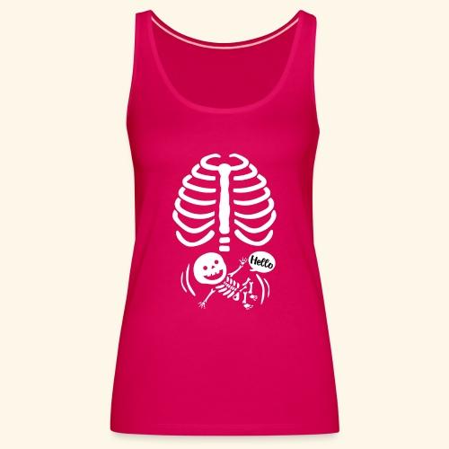 Bebe radiografia - Camiseta de tirantes premium mujer