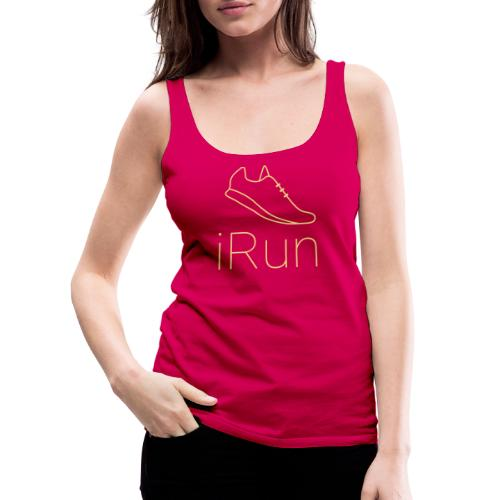 I Run - Frauen Premium Tank Top